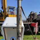 Ujęcie wody przy ul. Ujskiej - pompa głębinowa